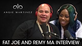 Fat Joe and Remy Ma Interview With Angie Martinez (8-23-16)