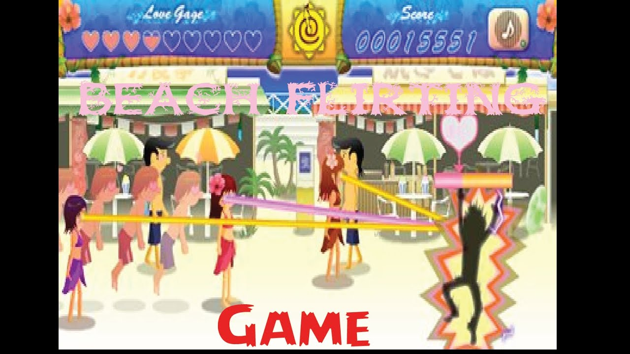 flirting games at the beach games download youtube videos