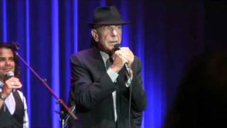 Barcelona, Whither Thou Goest, Leonard Cohen,