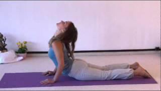 Yoga Vidya Mittelstufenstunde mit vielen Erklärungen