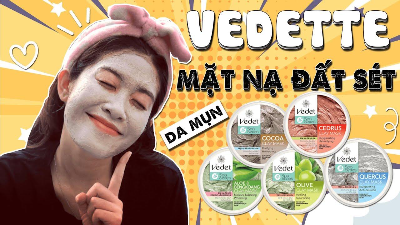 Cách đắp mặt nạ đất sét Vedette cho da dầu mụn giá bình dân – NGHEBALAN.COM