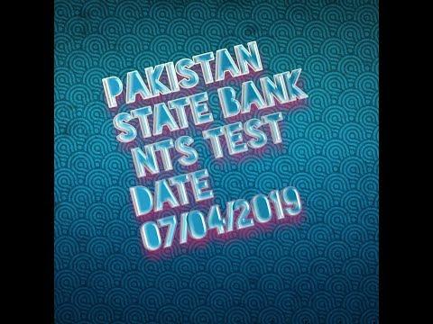 sbp banking nts roll no slip test date 07-04-2019