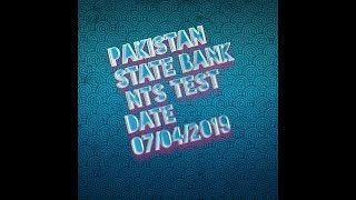 Nts Test Date 2019