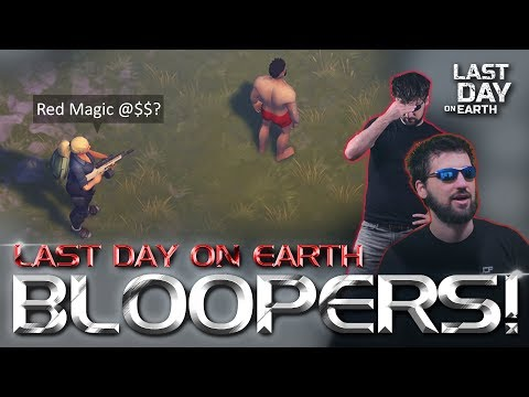 Last Day on Earth Bloopers (embarrassing). JCF's Red Magic ***