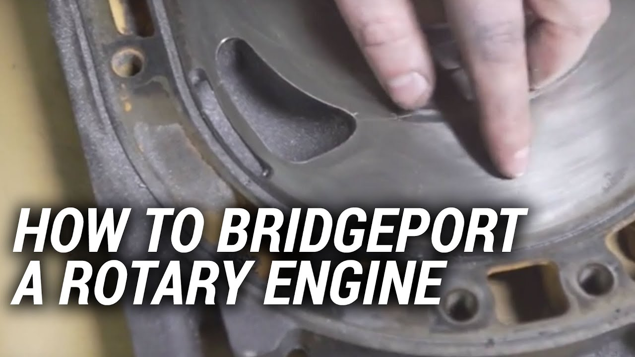 How to bridgeport a rotary engine youtube maxwellsz
