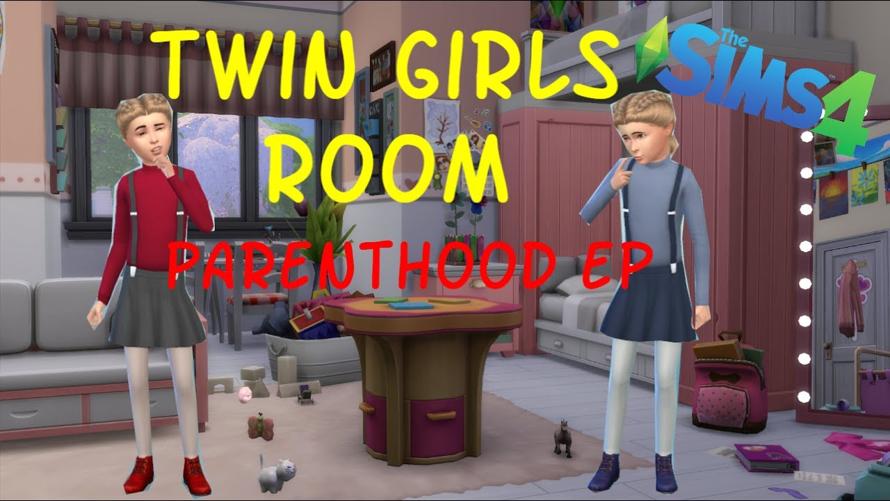 twin girls bedroom parenthood ep the sims 4 youtube twin girls bedroom parenthood ep the sims 4