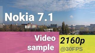 Nokia 7.1 2160p video sample