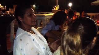 Remedios Amaya y Pepe Torres : Fiesta en casa José Manuel cueva