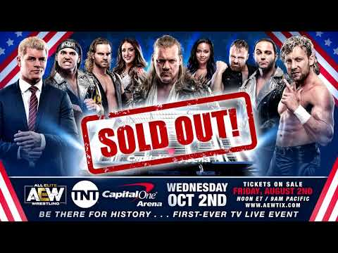 AEW sells out their first television taping: Wrestling Observer Radio