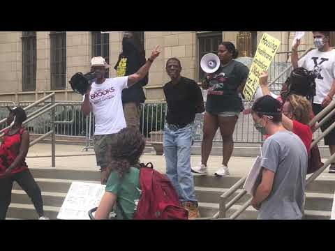 Alfred Brooks ATL Homeless Union Protest - July 6