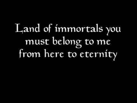 Land of immortals  lyrics.wmv