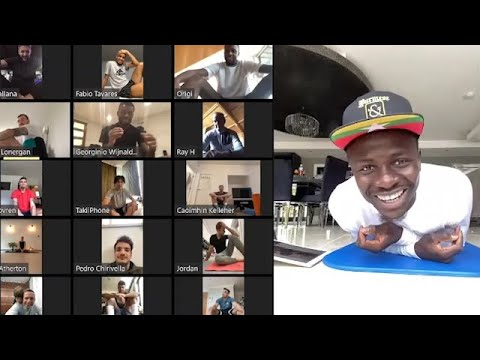 Mane Causes Chaos & Ox Sings In Three Languages! Reds Dial-in For Another Online Training Session