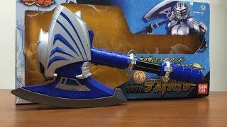 仮面ライダー龍騎の仮面ライダータイガの武器、白召斧デストバイザーの...