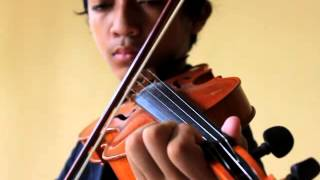 BCL  Cinta Sejati   Violin Cover By Gabriel Aji