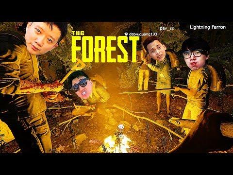 THE FOREST ĐỤT #2: SMILE, TÙNG NÚI, NAM ẾCH VÀO TEAM !!! Đại hội 7 CON GÀ giữa rừng hoang =)))))