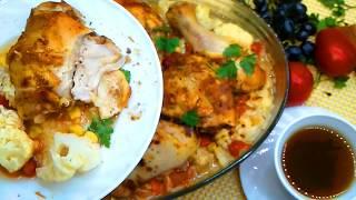 БЫСТРЫЙ и ВКУСНЫЙ ОБЕД для ВСЕЙ СЕМЬИ! Курица и овощами.