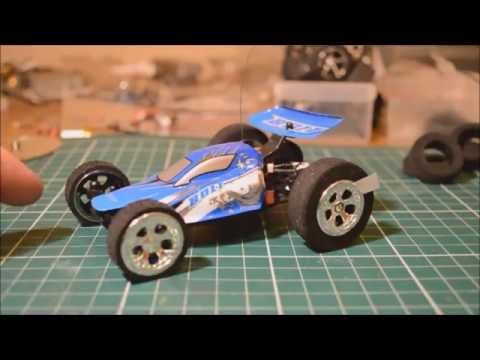 Mighty Micro RC Car Mods 2 Worlds fastest bolt project p1