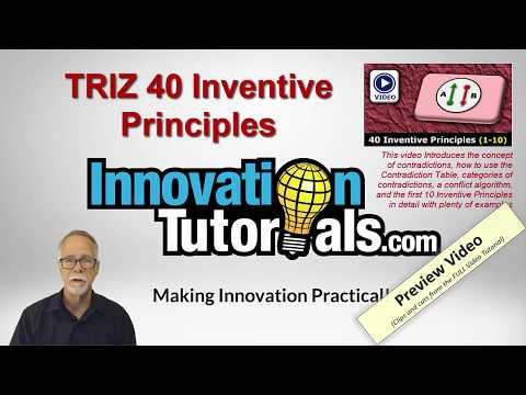 40 Inventive Principles (Preview)