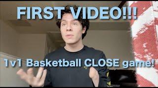 1v1 Basketball against friend CLOSE ending!!