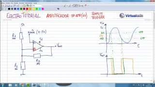 ElectroTutorial 366 Amplificador (14) Schmitt Trigger