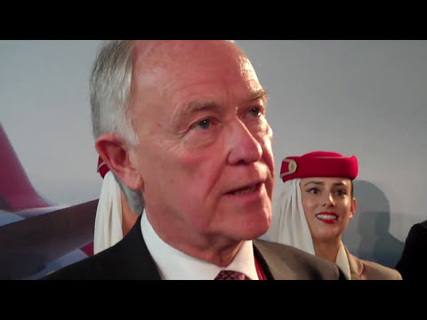 Sir Tim Clark, President Emirates Airline buys 150 Boeing 777X planes for 76 billion dollars
