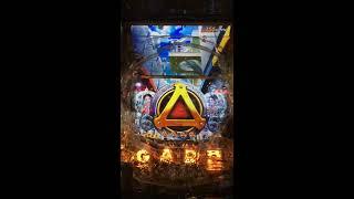 ボタン赤プル→擬似3→ガロフラッシュ緑→タイトル予告 牙狼GOLD STORM→魔...