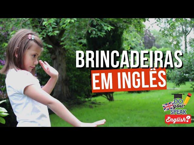 Brincadeiras em inglês | Londres na Latinha #5