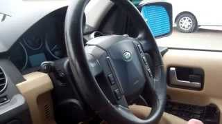 How to upgrade / change the steering wheel on Land Rover Discovery 3 LR3