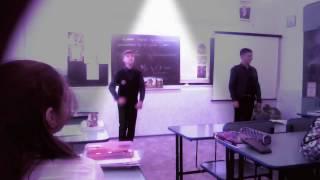 Наш урок истории( наказание за переписку)