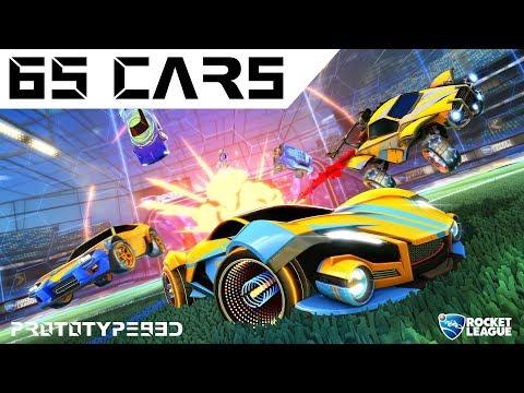 Rocket League - All 65 Cars