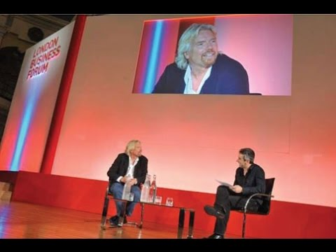 Peter Fisk interviews Sir Richard Branson