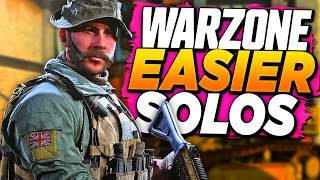 THIS is the EASIEST WAY to WIN WARZONE SOLOS! (Tips & Tricks)