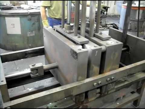 Fonderie aluminium: realisation de poignées