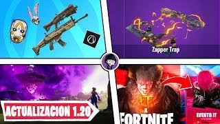 Fortnite x IT, The Return of THE CUBE, Free Rewards - Update 10.20 Fortnite