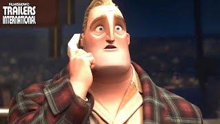 OS INCRÍVEIS 2 (2018) | NOVO Trailer do filme animado Disney Pixar