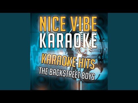 Set Adrift On Memory Bliss (Karaoke Version) (Originally Performed By The Backstreet Boys)