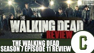 "Video The Walking Dead Season 7 Episode 11 ""Hostiles and Calamities"" Review download MP3, 3GP, MP4, WEBM, AVI, FLV November 2017"