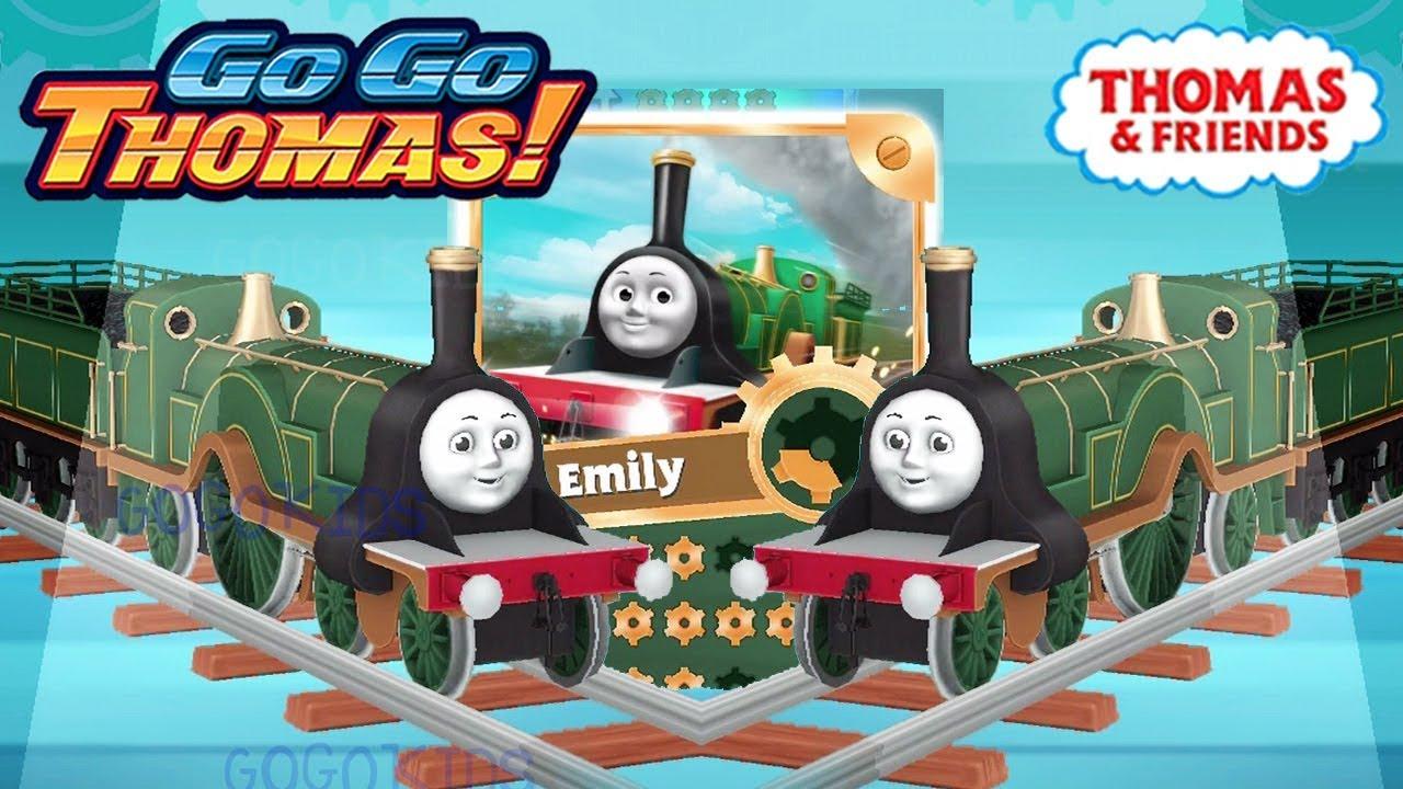 Thomas & Friends: Go Go Thomas! Emily Evolved Super GOLDEN ...