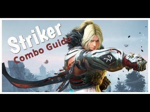 black desert online striker guide