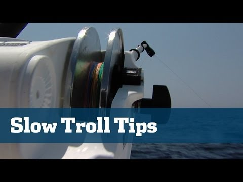 Downrigger & Slow Trolling Tips Including Equipment, Tackle and Presentations