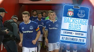 Download Video BEHIND THE SCENES AT THE MERSEYSIDE DERBY | BACKSTAGE BLUES: LIVERPOOL V EVERTON MP3 3GP MP4