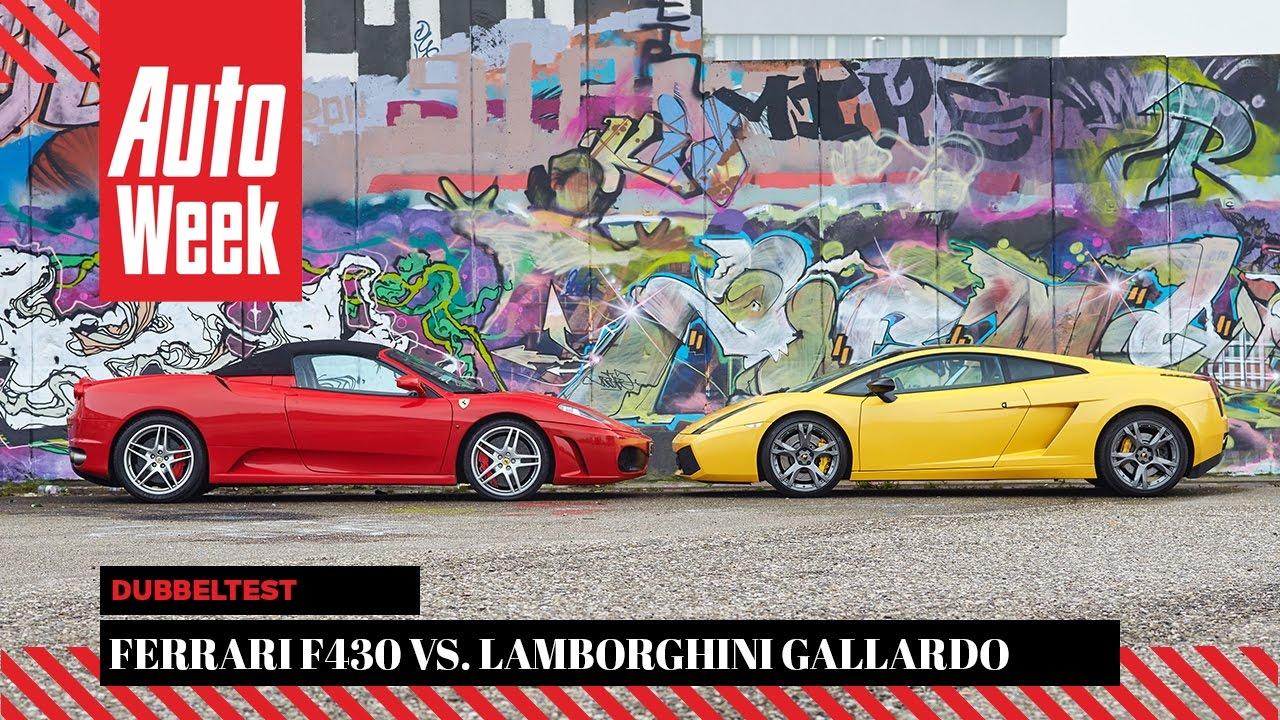 Ferrari F430 Lamborghini Gallardo Se Autoweek Occasion