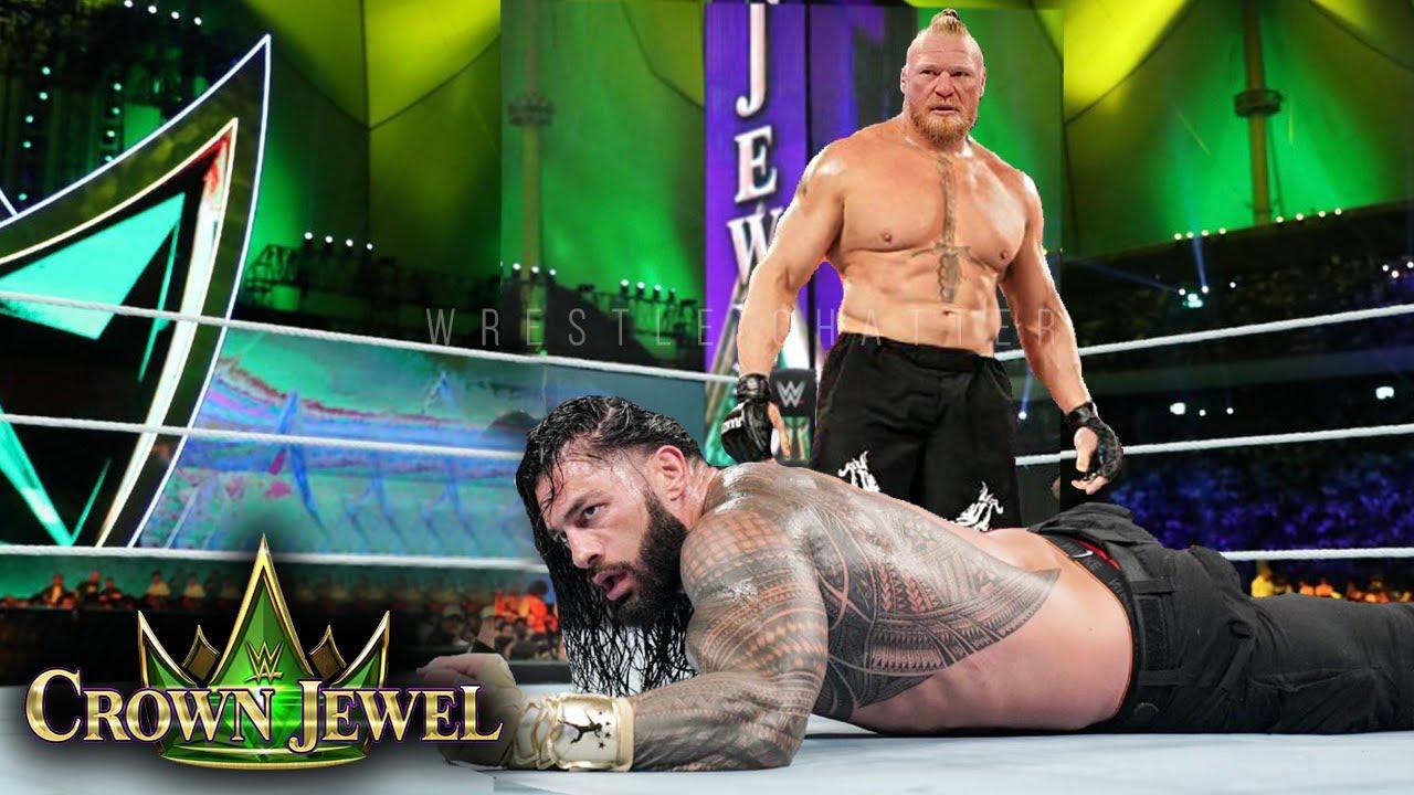 WWE Crown Jewel 2021 WINNERS, SURPRISES & Full Results | Brock Lesnar Vs Roman Highlights Prediction