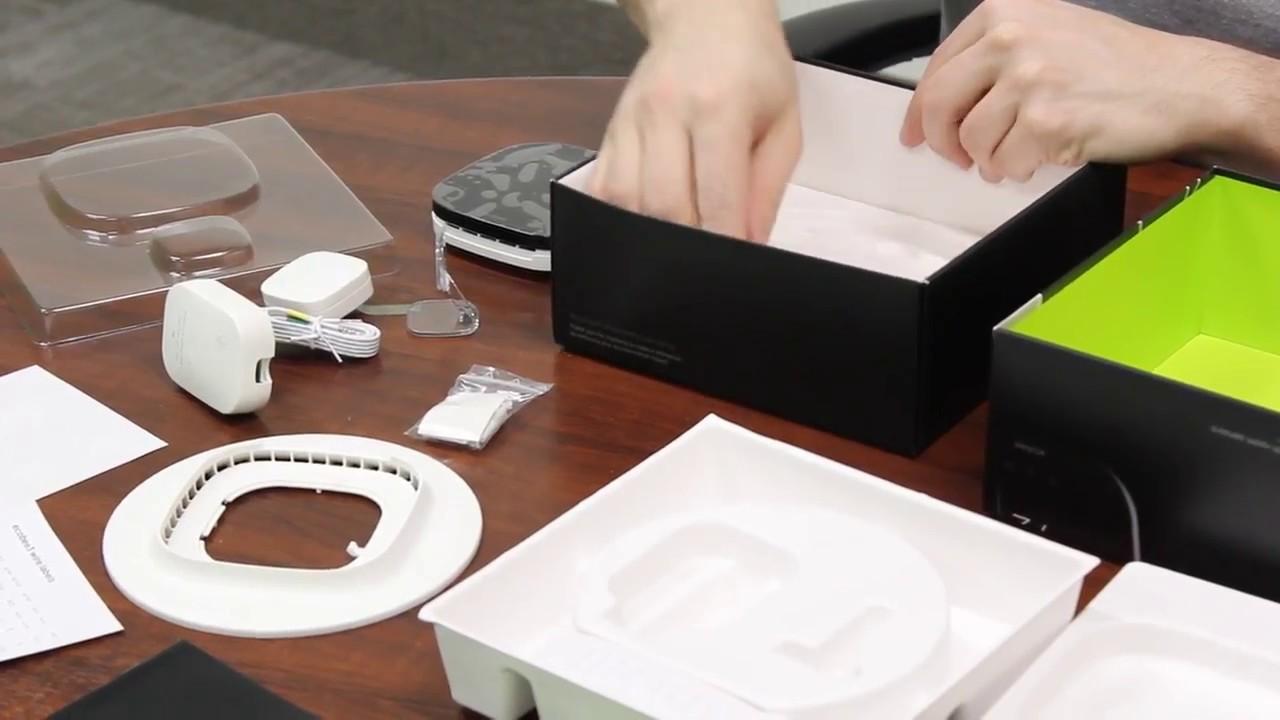 Unboxing Ecobee3 Wi  Remote Sensor