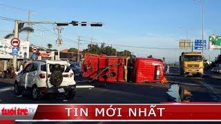⚡ Tin mới nhất | Cháy nhà máy giấy, xe đi chữa cháy gây tai nạn