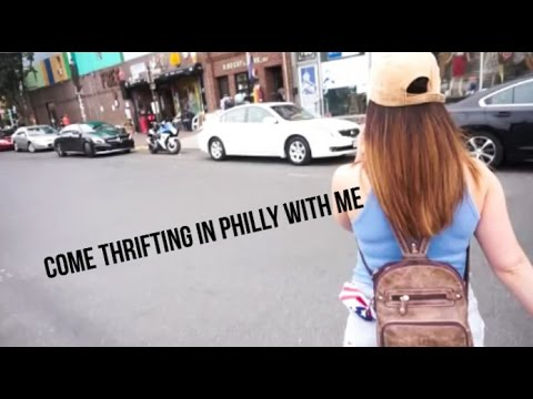 Come Thrift in Philly with me!! 4th of July celebration!