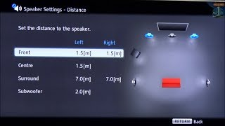 Sony Bluray 5.1 best Sound Settings and Calibration
