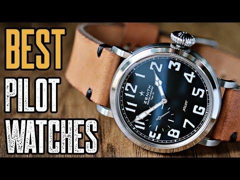 10 Best Pilot Aviator Watches For MEN!