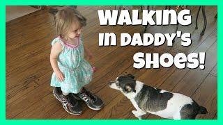 WALKING IN DADDY