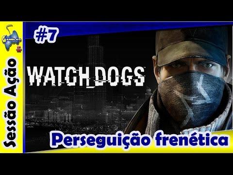 ''WATCH DOGS'' ''PS4'' parte #7 Perseguição frenética